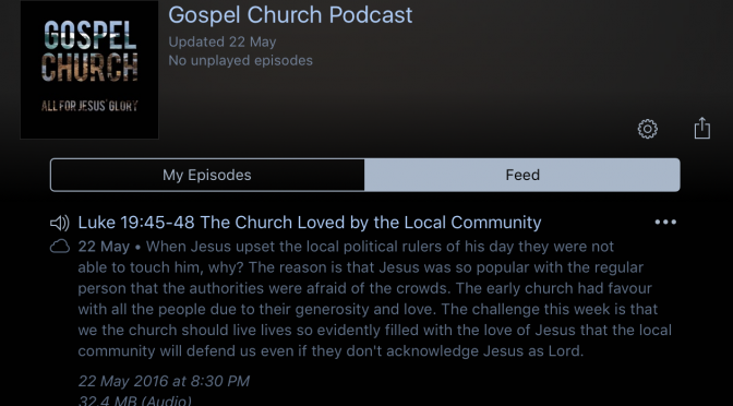 Gospel Church Podcast